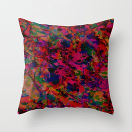 Scraping By Throw Pillow