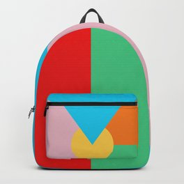 Circle Series - Summer Palette No. 3 Backpack