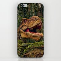 t rex iPhone & iPod Skins featuring T Rex by Shalisa Photography