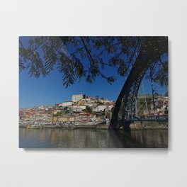 Porto Bridge Metal Print