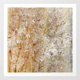 Bristles And Blooms Art Print