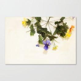 Flower Wheel Canvas Print