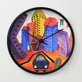 Don't Forget the Wash Wall Clock