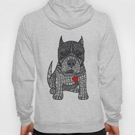 Devotion - American Pitbull Terrier with Loving Heart Hoody