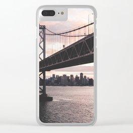 Bay Bridge - San Francisco, CA Clear iPhone Case