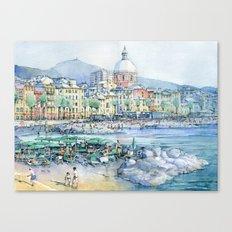 Pegli d'estate Canvas Print