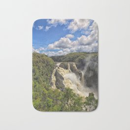 Magnificent Barron Falls in Queensland Bath Mat