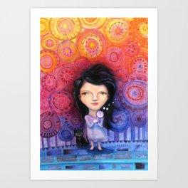 Camila Art Print