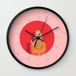 Margot Tenenbaum Wall Clock