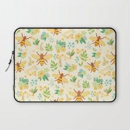 Honey Bees Laptop Sleeve