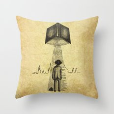 Take Me To Your Reader Throw Pillow