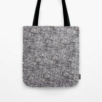 peonies Tote Bags featuring Peonies by Akwaflorell