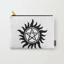 Anti Possession Sigil Black Carry-All Pouch