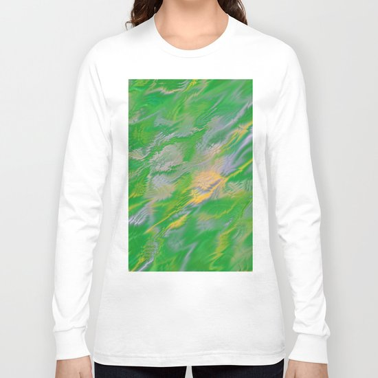 Pearl Green Water Long Sleeve T-shirt