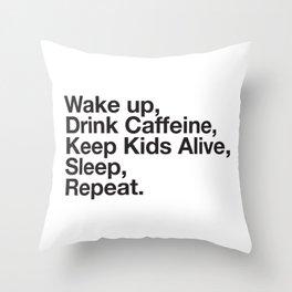 Keep them Alive. Throw Pillow