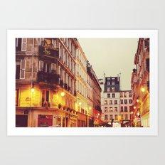 Paris Nº1 Art Print