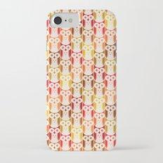 Owl Pattern iPhone 7 Slim Case