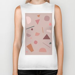 Abstract Geometric 28 Biker Tank