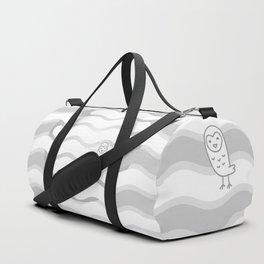 012 OWLY clouds Duffle Bag