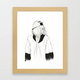 •Kozume Kenma• Framed Art Print