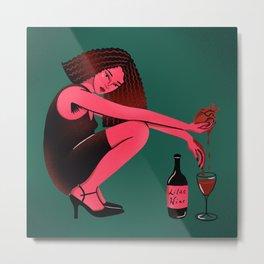 Iilac wine Metal Print