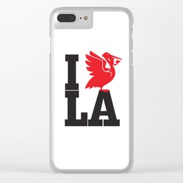 I HEART LA Clear iPhone Case