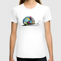 snail T-shirts featuring Snail by Sary and Saff