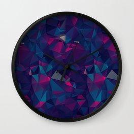 Amethyst ROCK PATTERN Wall Clock