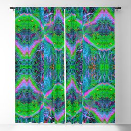 Techno Electric II (Ultraviolet) Blackout Curtain