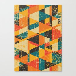 A Million Little Pieces Canvas Print
