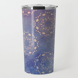 Vintage Bloom Travel Mug