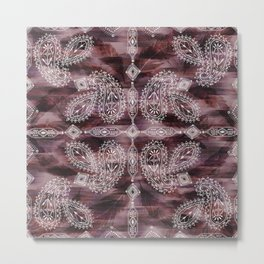 Marrakesh Paisley Metal Print