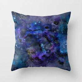 Spellbound Starry Night Throw Pillow