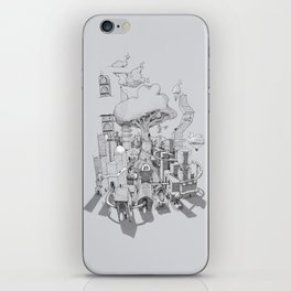 Impossible City iPhone Skin