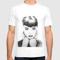 Hepburn Mens Fitted Tee White MEDIUM