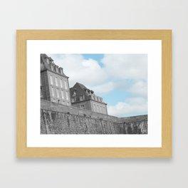 Saint-Malo Framed Art Print