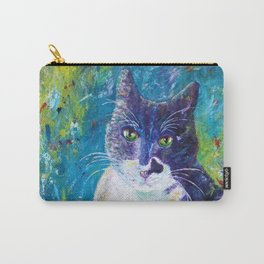 Cat Impressionistic Carry-All Pouch