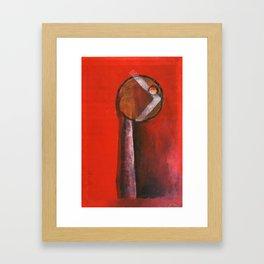 edge of reason Framed Art Print
