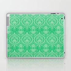 Simple Ogee Green Laptop & iPad Skin