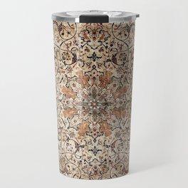Silk Esfahan Persian Carpet Print Travel Mug