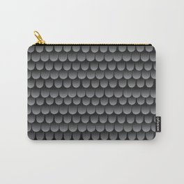 Armor Pattern Grey Carry-All Pouch