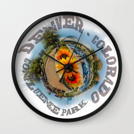 Confluence 360 Wall Clock
