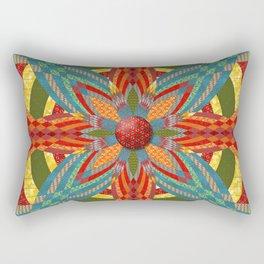 Thistle Pattern Rectangular Pillow