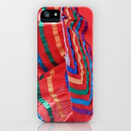 Celebration in Red iPhone Case