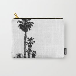 Playa de Valencia | Black and white photograph of the boulevard & beach | travel art Carry-All Pouch