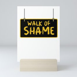 Halloween Sexy Walk Of Shame Party Funny gifts Mini Art Print