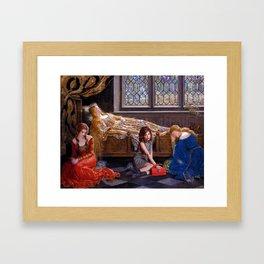 rowan blanchard + john collier Framed Art Print