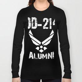 dd 214 alumni teacher Long Sleeve T-shirt
