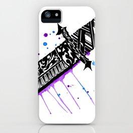 Watercolor Katana Sword iPhone Case