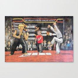 Sweep The Leg - Chalk piece Canvas Print